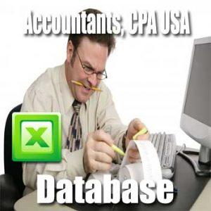 Accountants CPA Database USA