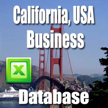 california business database directory and email list