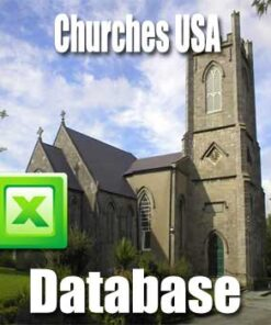 Church Email List, Directory and Database USA