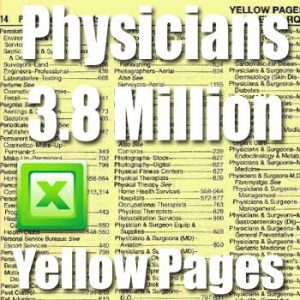 Physicians Yellow Pages Database Directory